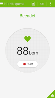 The heart rate monitor is not always very precise: A resting heart rate of almost 90 is a bit high.