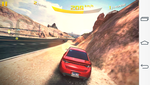 The graphics card did not even have problems with the demanding Asphalt 8.