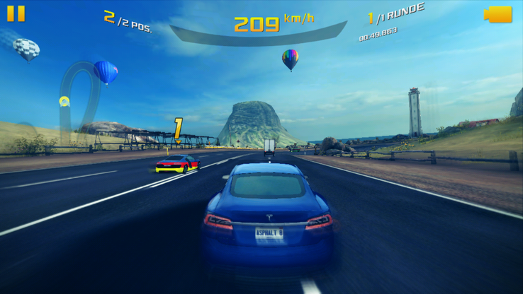 "Runs well, but not completely lag-free: ""Asphalt 8"""