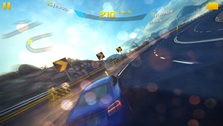 """Asphalt 8"" does not run fluidly at high details."