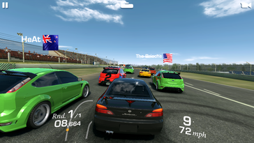 """Real Racing 3"" is no problem for the GPU."