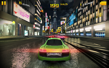 "However, some frame rate issues were noticed in ""Asphalt 8: Airborne"" using maximum settings."