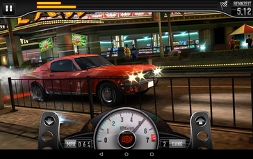 "And even more demanding games like ""CSR Classics"" run smoothly."