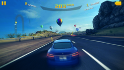 Runs smoothly: Asphalt 8: Airborne