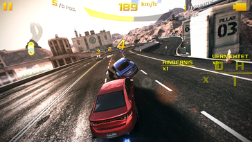 Asphalt 8 Airborne only runs smoothly at low details.