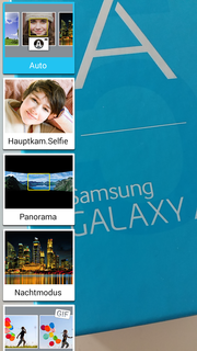 The photo app also comes from Samsung and provides many features.