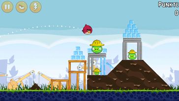 """Angry Birds"" also runs lag-free."