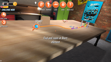 Hot Wheels is perhaps the most stable and fun free Tango AR application currently available