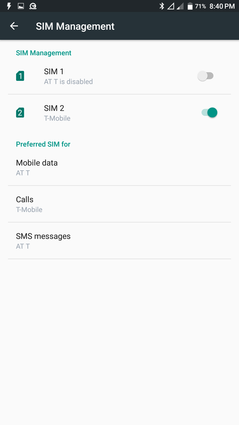 Dual-SIM GSM capabilities. CDMA users are out of luck
