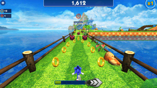Sonic Dash Windows Store Game