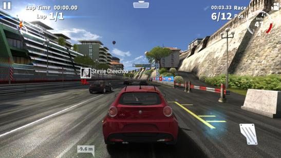 GT Racing 2 - a free Windows Store game.