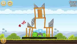 Simple games like Angry Birds are no problem for the SoC ...