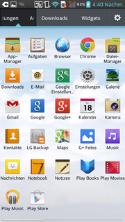 A lot of apps are preinstalled ex-factory.