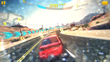Even demanding games such as Asphalt 8 ...