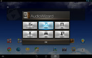 Asus' AudioWizard app changes the audio effects.
