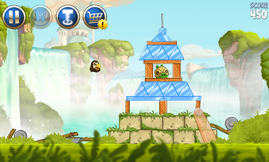Angry Birds Star Wars runs fluidly ...