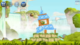 Basic games like Angry Birds Star Wars run just as smoothly as...