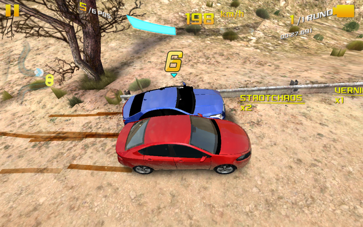 "Up-to-date games like ""Asphalt 8"" run smoothly"