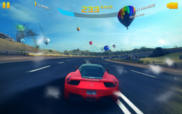 Current Android titles like Asphalt 8 ...