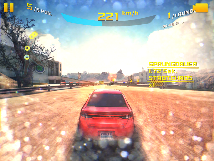 "Games like ""Asphalt 8"" run smoothly even in high details"