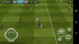 ...and FIFA 14 run smoothly.