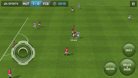 The SoC performance is easily sufficient for current Android games like FIFA 15.