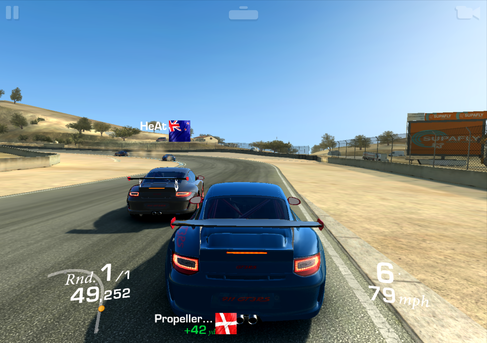 ... up to complex titles like Real Racing 3.