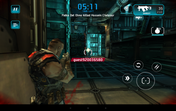 ...or fast action games like Shadowgun: Deadzone.