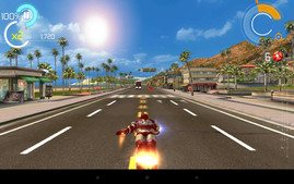 Effortless: The Asus Fonepad ME372CG renders even graphically demanding games like Iron Man 3...