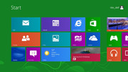 Colorful: the Windows Start Menu has served its time; the spotlight now shines on the tabs.