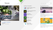 Much improved Windows Store.
