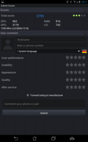 Review Asus Fonepad ME371MG Tablet - NotebookCheck net Reviews