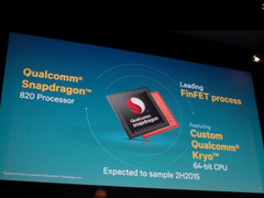 Qualcomm's upcoming Snapdragon 820 might favor performance-per-core over the number of cores