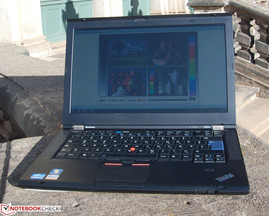 T420s in direct sunlight