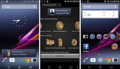 Sony EvolutionUI custom Android interface research project