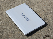 The 14.1-inch Vaio EA1S1E is available in a chic white as well as a bright neon-green or cosmic black.