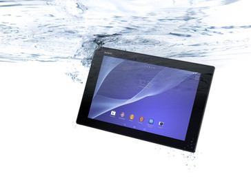 Sony Xperia Z2 waterproof Android tablet with Snapdragon 801 processor