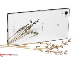 In review: Sony Xperia Z5 Premium. Review devices courtesy of Sony Germany and Notebooksbilliger.de