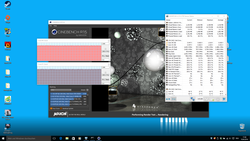 Cinebench loop clock rates (multi-core)