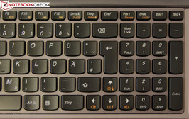 Space problems with the AccuType keyboard