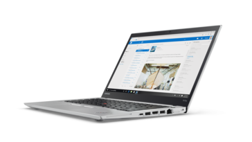 ThinkPad T470s from the side (silver)