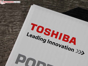 Toshiba's most mobile business line operates under the name Portégé.
