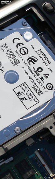 Toshiba Portege R830-110: Version with 7200 rpm HDD