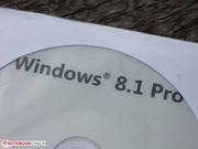 Toshiba Satellite Pro R50-B-112: Almost professional - Windows 7 preloaded and Windows 8.1 provided in the delivery.