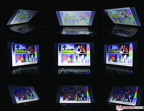 Blickwinkel Toshiba Satellite P745-S4250