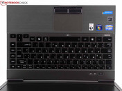 Keyboard with short key drop,