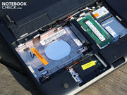 "Those include the harddrive (250GB in 2.5"", removed here),"