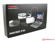 Toshiba Portégé - the name has always been a synonym for especially light-weight business devices...