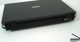 Toshiba Satellite Pro A100 Interfaces