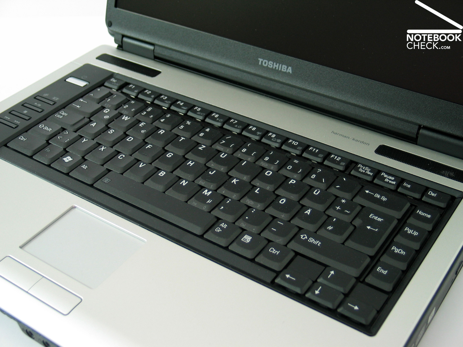 Review Toshiba Satellite Pro A100 Notebook Notebookcheck Net Reviews